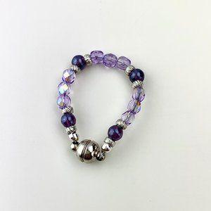 Violate Crystal baby bracelet
